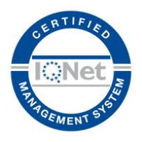 Certified Management System IQNET